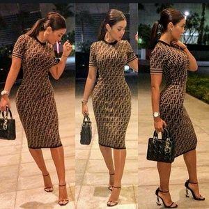 Dresses & Skirts - Sexy Bodycon Dress size M-L